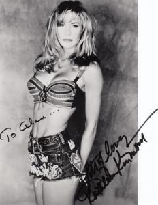 Kathleen Kinmont Horror Scream Queen Actress Halloween 10x8 Hand Signed Photo