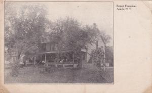 ANGOLA , New York , 1901-07; Bennett Homestead