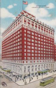 Kentucky Louisville The Brown Hotel 1949