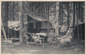 Caledonia State Park , Pennsylvania , 1930s ; Camping