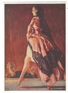 Lady Modeling Some Lingerie, Haus Der Deutschen Kunst, Julius Engelhard, Spit...