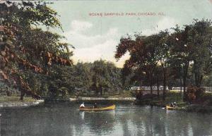 Illinois Chicago Scene Garfield Park 1909