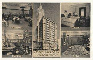 NEW YORK CITY, 1930s ; Hotel Aberdeen