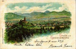 CPA AK Godesberg – Panorama - Litho GERMANY (857132)