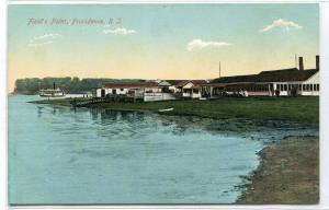 Field's Point Providence Rhode Island 1910c postcard