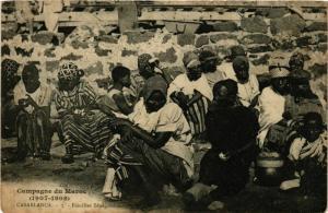 CPA CASABLANCA Familles Senegalaises MAROC (824543)