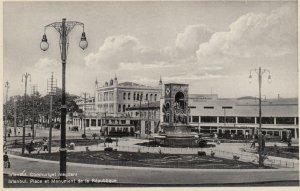 Istanbul , Turkey , 1930s ; Place et Monument de la Republique