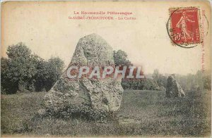 Old Postcard St Andre Echauffour The Crusts