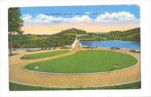 Roadway Across Norris Dam, Norris, Tennessee, 1930-1940s