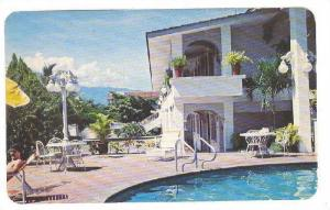 Partial View Of The Swimming Pool & Rooms Of The Luxurious Maria Isabel Hotel...