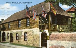 FL - St. Augustine. Oldest House in the USA