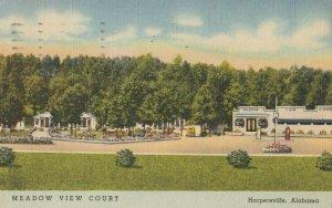 HARPERSVILLE , Alabama , 1949 ; Meadow View Court