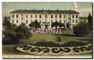 Old Postcard Chalon Sur Saone The College Of Young Girls