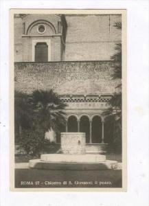 RP  ROMA, Italy, 20-40s   Chiostro di S Giovanni: il pozzo