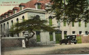 curacao, N.W.I., WILLEMSTAD, St. Elisabeth Hospital (1910s)