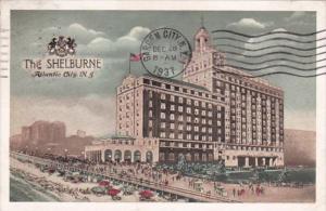 New Jersey Atlantic City The Shelburne Hotel 1937