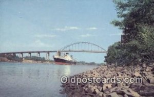St Georges, St Georges, Delaware, DE USA Steam Ship Postcard Post Cards Unused