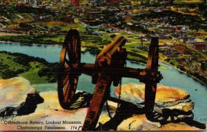 Tennessee Chattanooga Lookout Mountain Confederate Battery