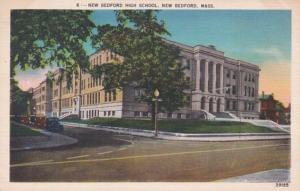 Massachusetts New Bedford High School 1951