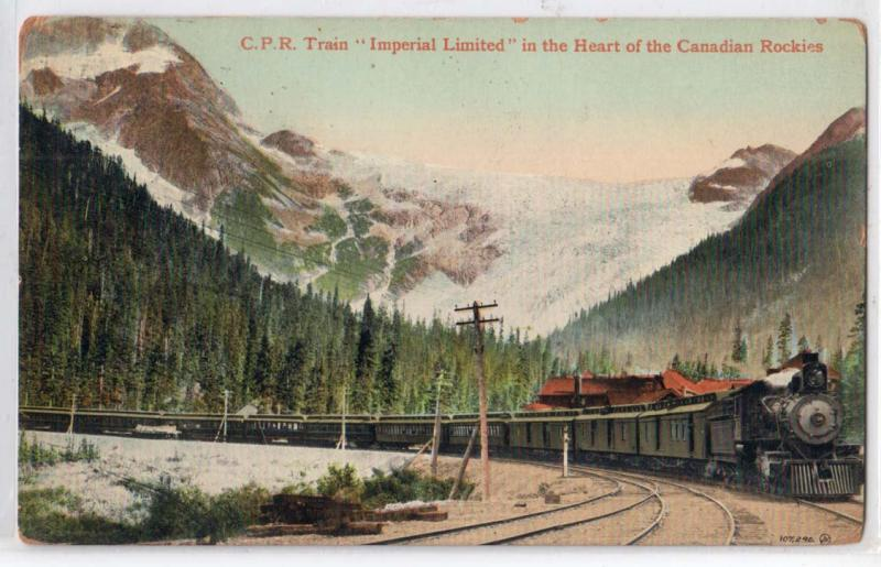C.P.R. Train, Imperial Limited BC