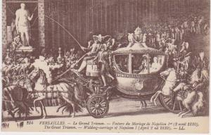 NAPOLEON'S MARRIAGE TO MARIE-LOUISE CARRIAGE