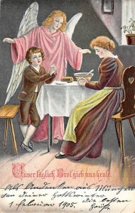 Dinner Time Angel Angles 1905 writing on front