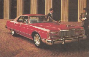 1977 Grand Marquis 4-Dr Pillared Hardtop Car