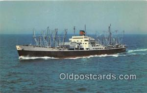 American President Lines SS President Lincoln Ship Postcard Post Card SS Pres...
