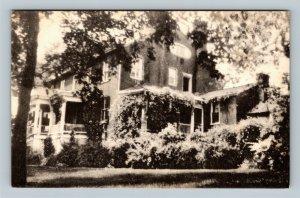 Natural Bridge VA, Herring Hall Inn & Tea Room, Linen Virginia Postcard