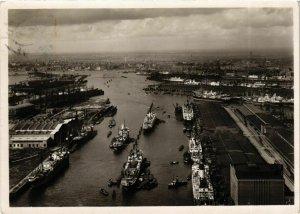 CPA AK Hamburg- Deutschlands Grosster Hafen GERMANY (902687)
