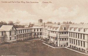 CRESSON , Pennsylvania , 1910s ; Corridor & Part of East Wing, State Sanatorium