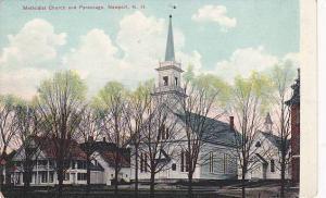 Exterior, Methodist Church and Parsonage, Newport, New Hampshire, 00-10s