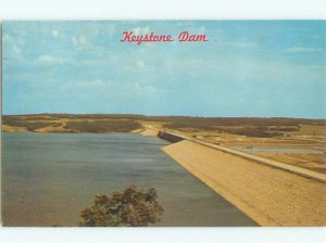 Pre-1980 DAM SCENE Westport - Near Osage & Sand Springs & Tulsa OK AF5788