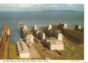Postal 035712 : Ore Doch Elevators Port Arthur-Fort Willian Ontario Canada