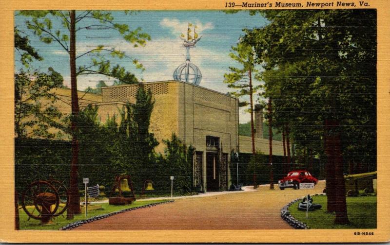Mariner's Museum Newport News Virginia 1947 Curteich