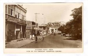 RP; Street view of the Shopping Center, Aden, Yemen, 1910-30s