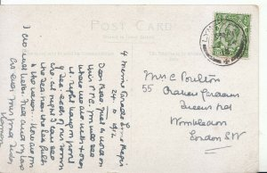 Family History Postcard - Poulton - Queens Rd - Wimbledon - London - Ref 2255A