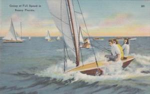 Florida Going Sailing At Full Speed
