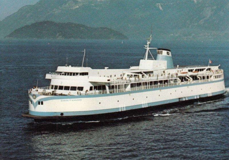 NANAIMO , B.C. , Canada , 1960-80s ; Ferry M.V. QUEEN of NANAIMO