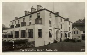 Ambleside - Salutation Hotel Real Photo Postcard