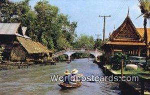 Kholong Calan, Thonburi, Bridge Bangkok Thailand Unused