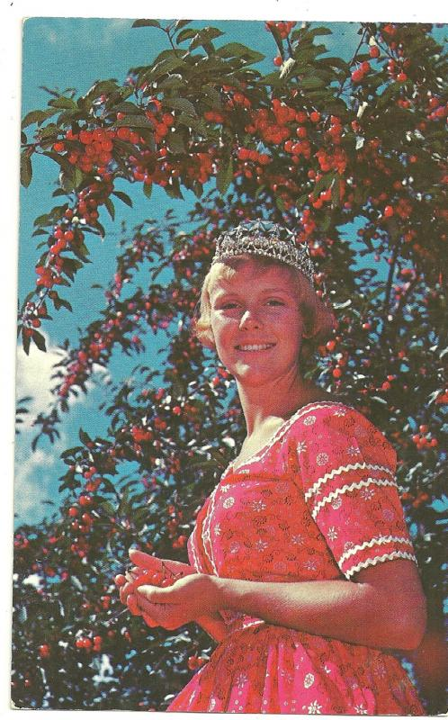 1960 National Cherry Queen, Kay Lahym, Traverse City, Michigan