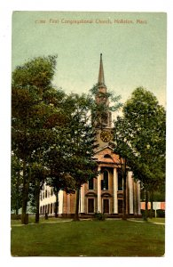 MA - Holliston. First Congregational Church
