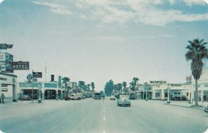 BLYTHE , California , 1950-60s ;  Main Street