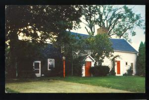 East Greenwich, Rhode Island/RI Postcard, The Clement Weaver House