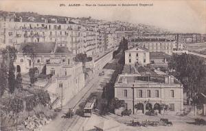 Algeria Alger Rue de Constantine et Boulevard Bugeaud