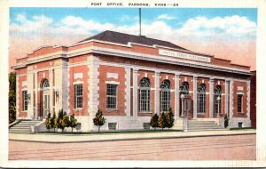 Kansas Parsons Post Office 1943