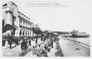 FNEF02  France, Alpes Maritimes, Nice, Promenade des Anglais, Vintage Real Ph...