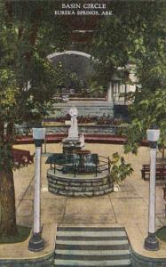 Arkansas Eureka Springs Basin Circle Curteich