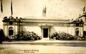CA - San Francisco. 1915 Panama-Pacific Int'l Expo., New Zealand Bldg *RPPC